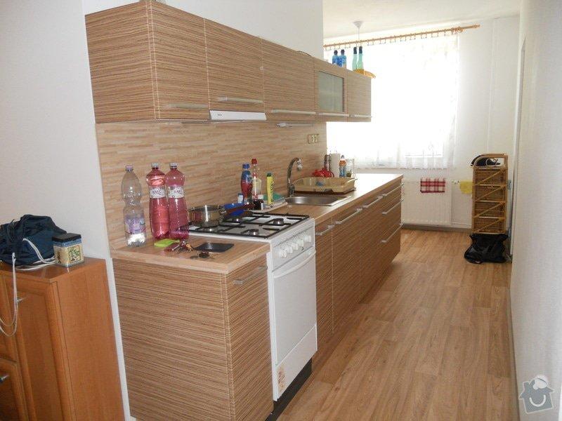 Výroba a montáž kuchyšké linky a vestavěné skříně: DSCN0732