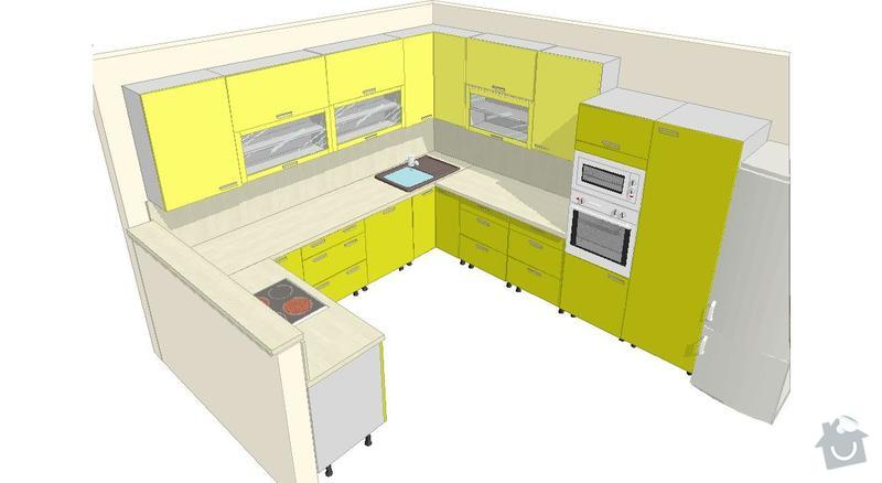 Výroba a montáž kuchyšké linky.: gal_a