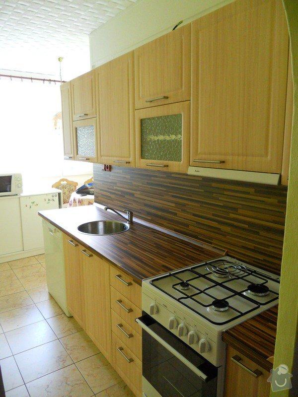 Výroba a montáž kuchyšké linky.: DSCN1188
