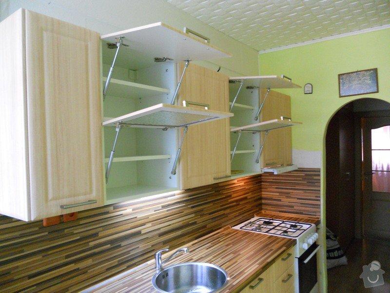 Výroba a montáž kuchyšké linky.: DSCN1192