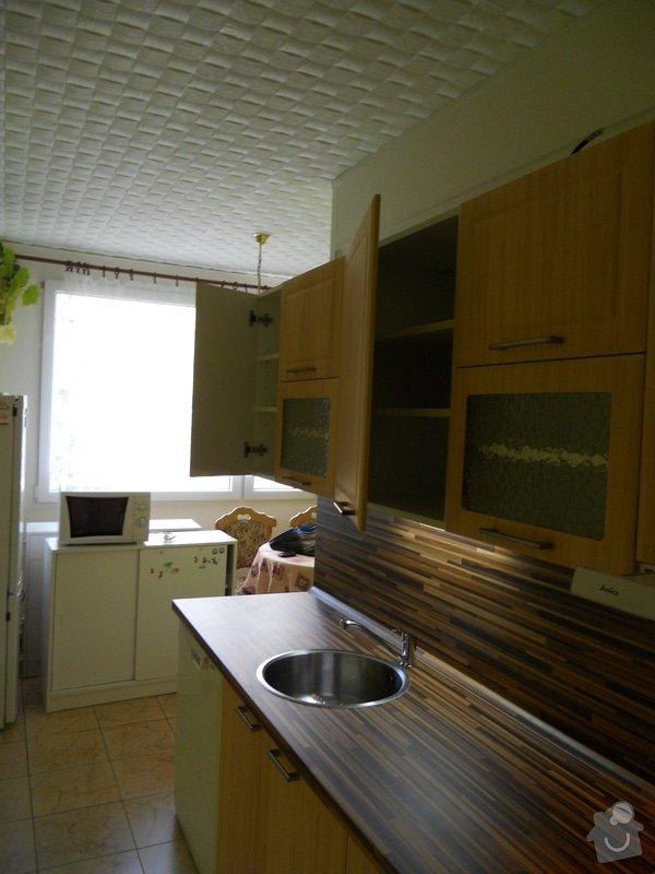 Výroba a montáž kuchyšké linky.: DSCN1195