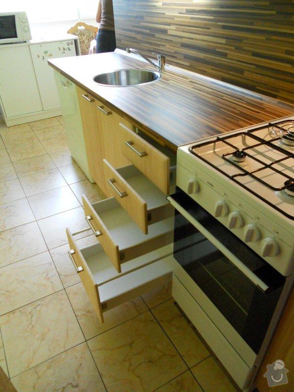 Výroba a montáž kuchyšké linky.: DSCN1198