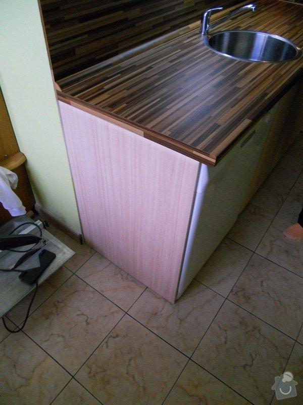 Výroba a montáž kuchyšké linky.: DSCN1201
