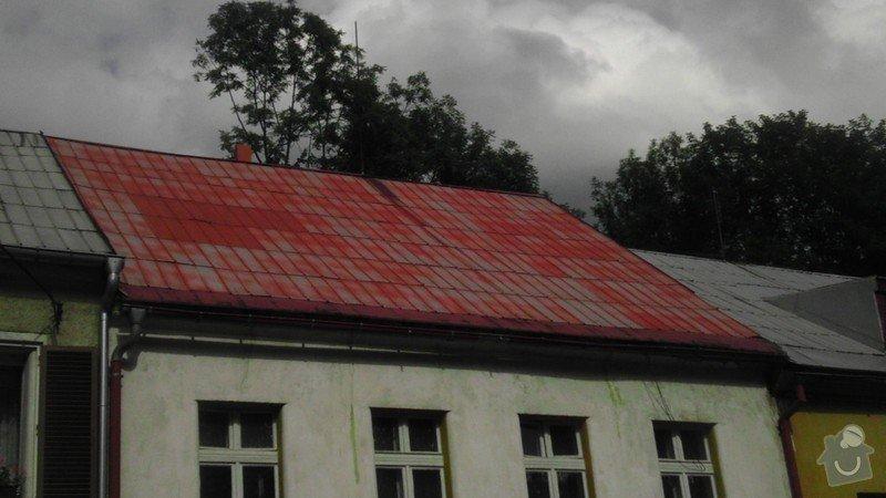 Pokládka střechy ze šindele, bitumenu: IMAG0221