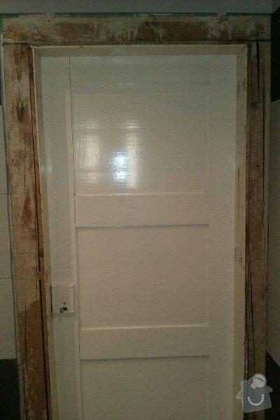 Truhlářské práce - dveře + zárubně: 1344848994792
