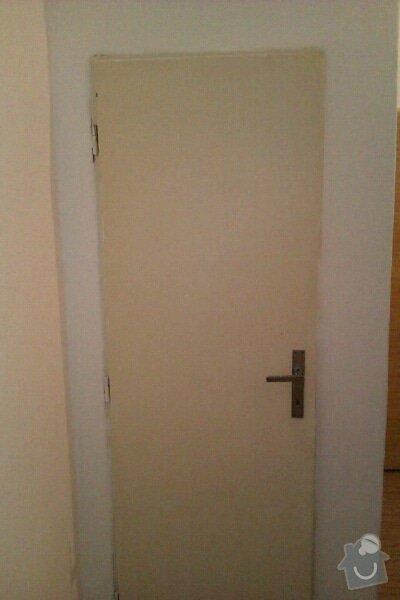 Truhlářské práce - dveře + zárubně: 1344849192257