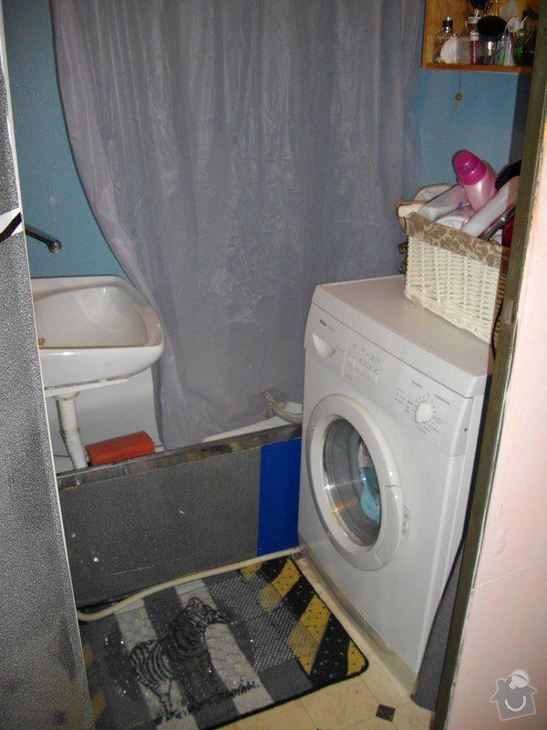 Rekonstrukce panelakove koupelny + kuchyn: IMGP7209