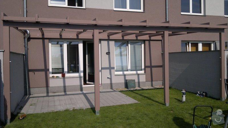 Zastřešená terasa u rodinného domu Plzeň: 2012-07-24-341