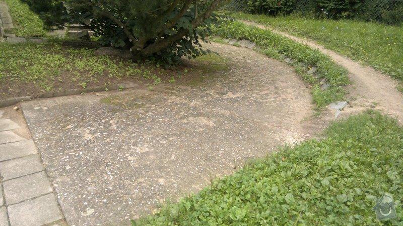 Oprava bočního přístupu do domu,odizolování domu : 2012-08-07-286