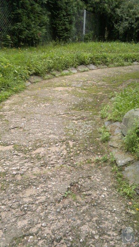 Oprava bočního přístupu do domu,odizolování domu : 2012-08-07-291