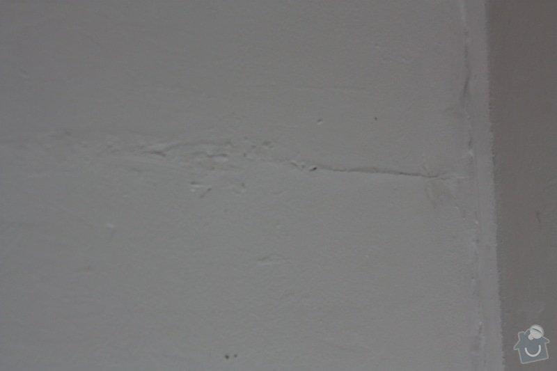 Zednické práce rekonstrukce paneláková kuchyně, oprava štuku (ložnice 12 m2 a malá chodba): IMG_4509