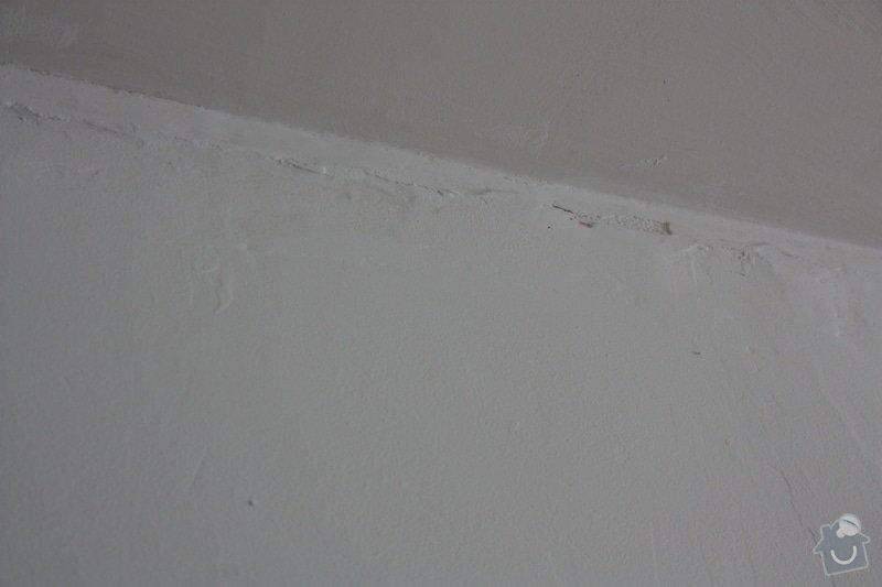 Zednické práce rekonstrukce paneláková kuchyně, oprava štuku (ložnice 12 m2 a malá chodba): IMG_4507