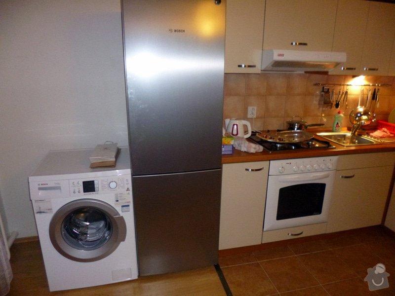 Zapojení pračky a myčky: P1000506