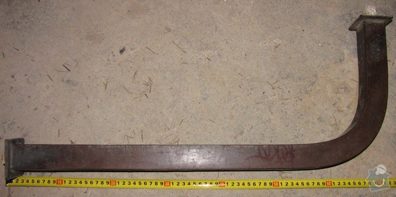 Výroba kusu železného zábradlí: IMG_1349