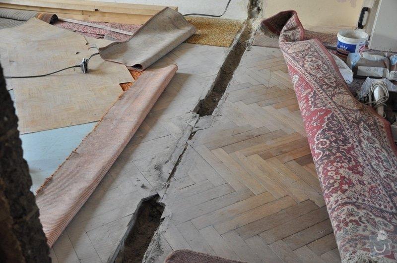 Dokládka dřevěné parketové podlahy: DSC_1897