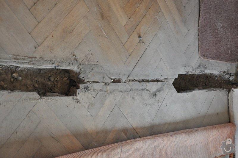 Dokládka dřevěné parketové podlahy: DSC_1885