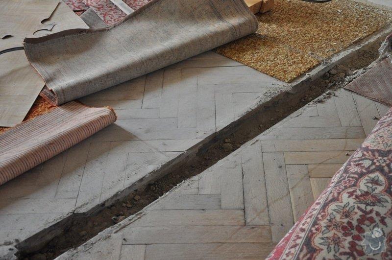 Dokládka dřevěné parketové podlahy: DSC_1888