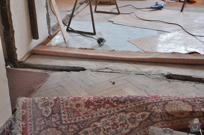Dokládka dřevěné parketové podlahy: DSC_1889