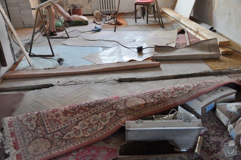 Dokládka dřevěné parketové podlahy: DSC_1894