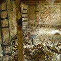 Stavebni upravy ve starsim dome 6 kopani podlah