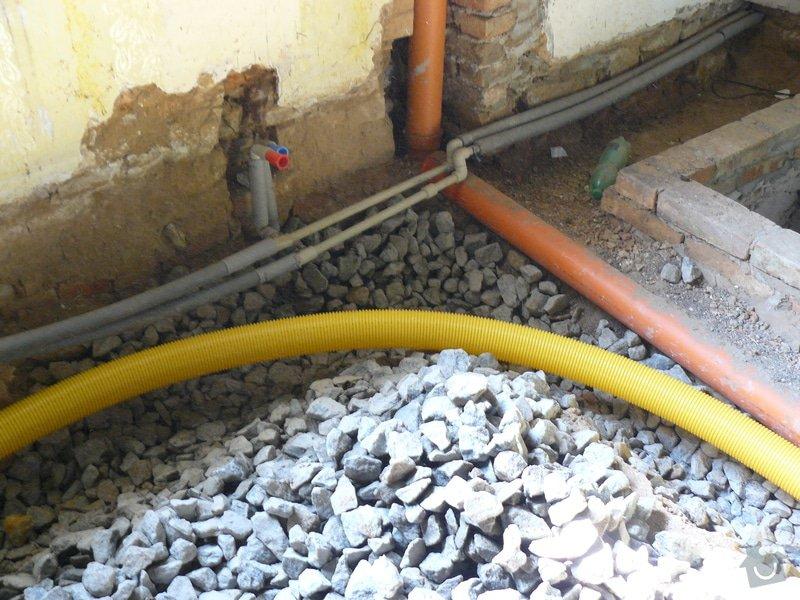 Stavební úpravy ve starším domě: odpady_a_voda