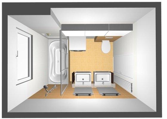 Rekonstrukce koupelny v cihlovém domě