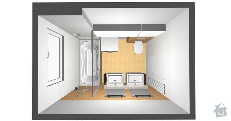 Rekonstrukce koupelny v cihlovém domě: R_01a