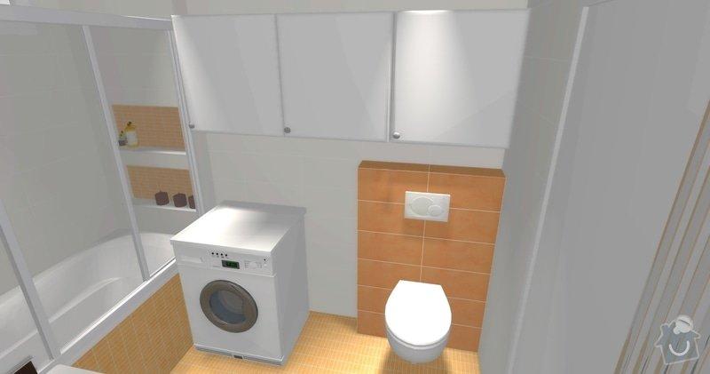 Rekonstrukce koupelny v cihlovém domě: R_02