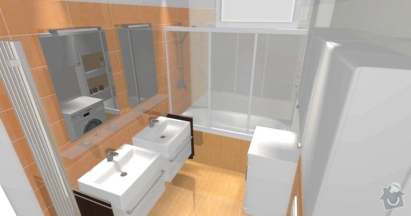Rekonstrukce koupelny v cihlovém domě: R_03