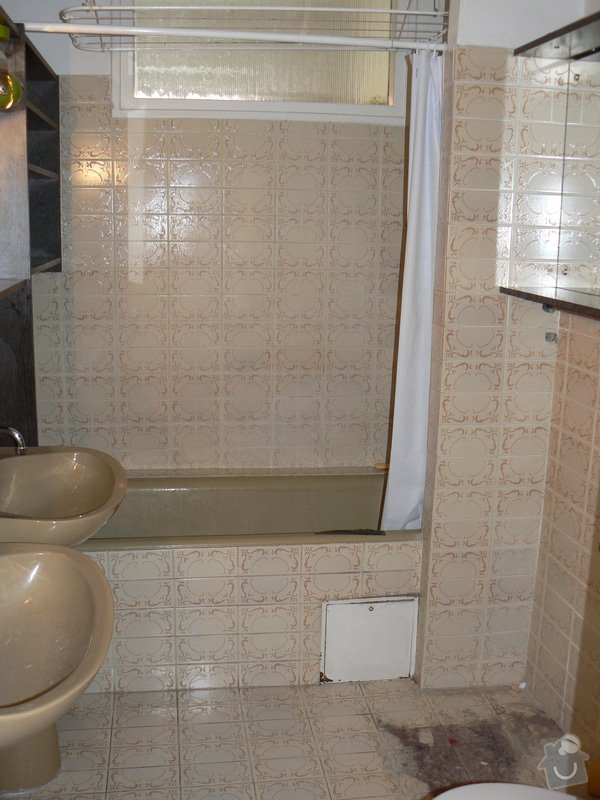 Rekonstrukce koupelny v cihlovém domě: R_P1040362