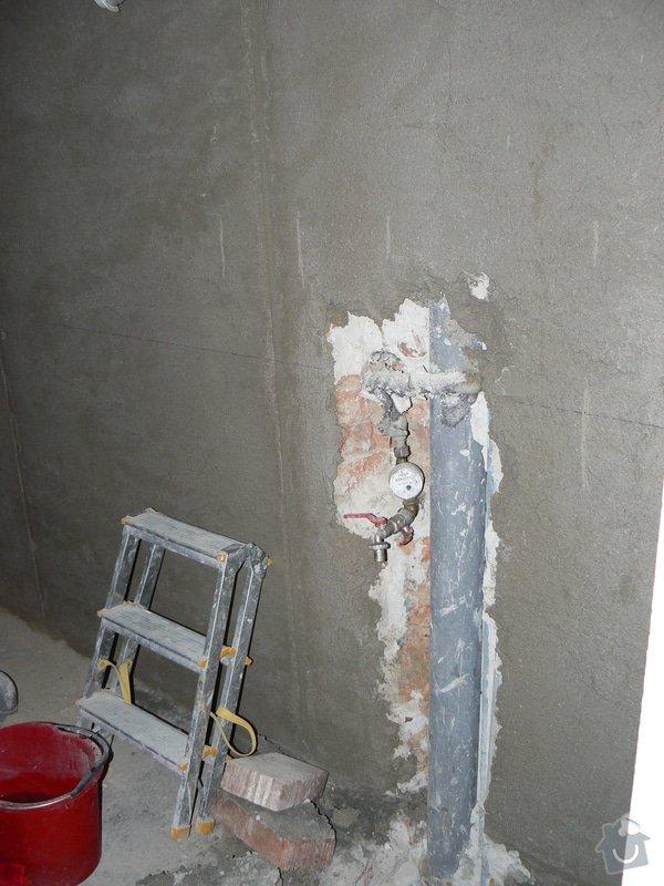 Rekonstrukce koupelny v cihlovém domě: R_P1040373