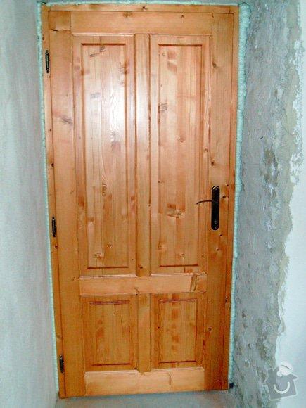 Truhlář - 70cm dveře s obložkou: dvere-truhlarstvi-1_preview