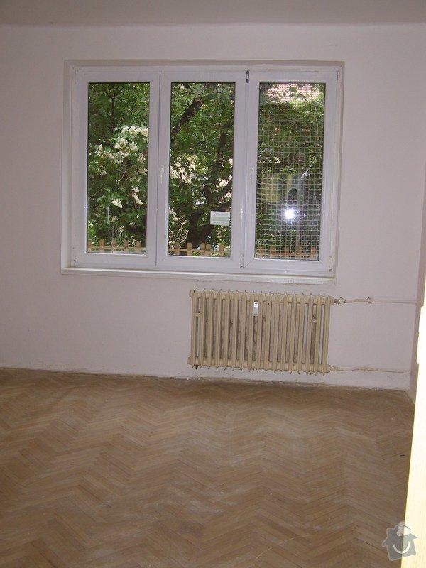 Renovace parket: Pokoj2