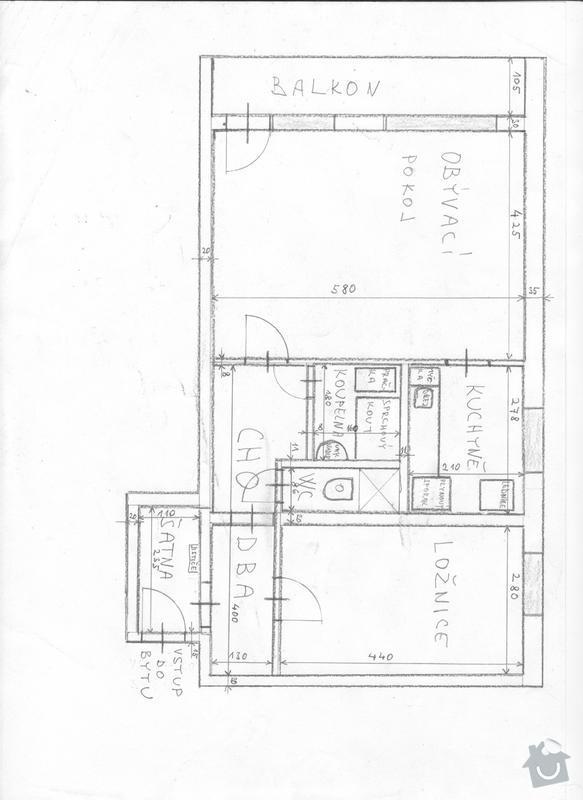 Rekonstrukce el.instalace, koupelny a podhledu na WC : Obrazek