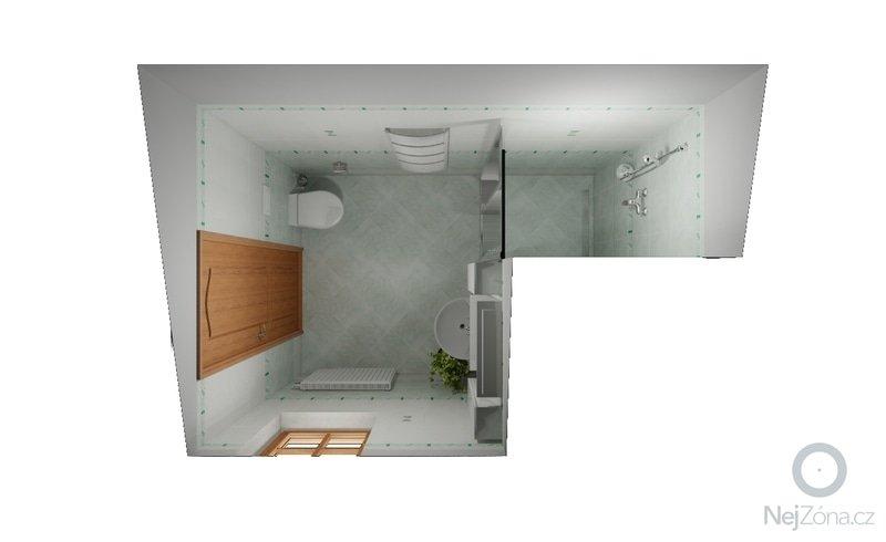 Stavební a obkladačské práce - podkrovní koupelna: hrbacek_koupelna2_nebbia_var2_3
