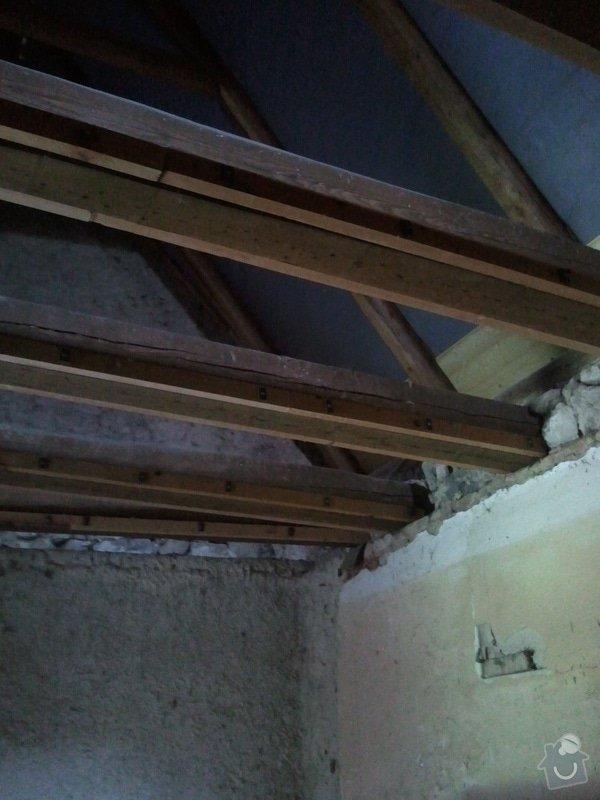 Zednické práce - realizace stropu: IMG_20120820_173635