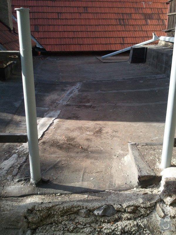 Izolatérské práce - izolace ploché střechy: IMG_20120820_173739