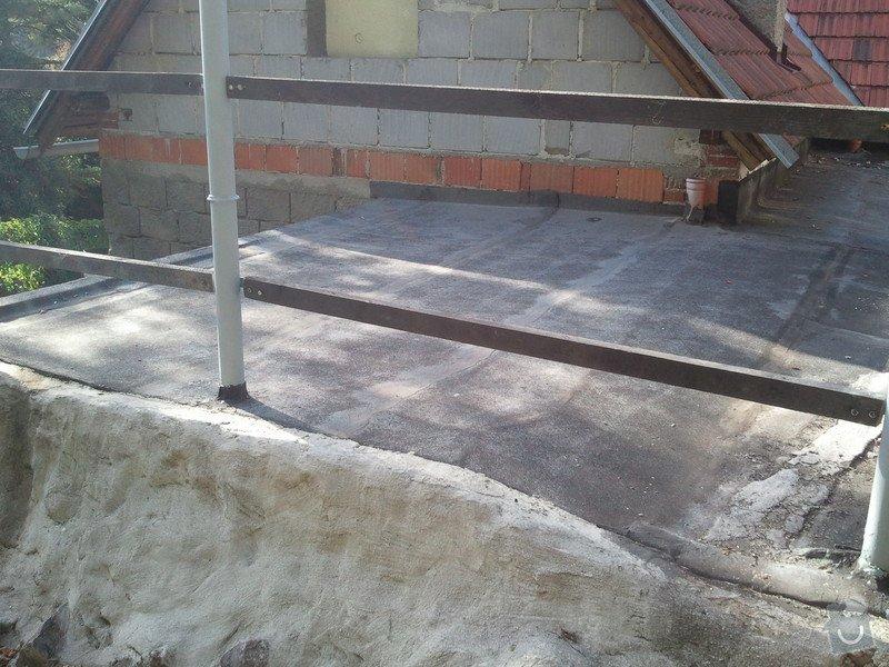 Izolatérské práce - izolace ploché střechy: IMG_20120820_173745