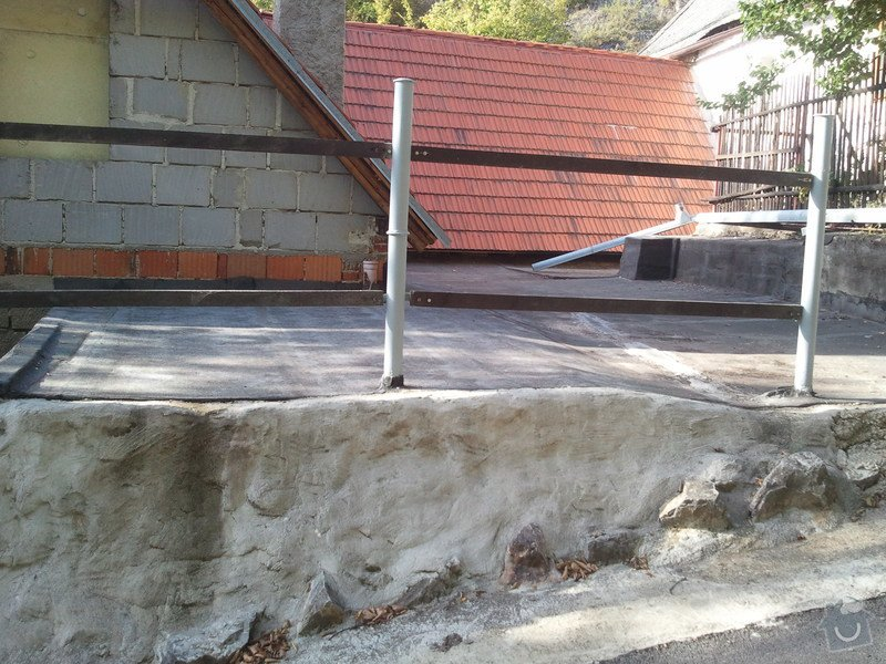 Izolatérské práce - izolace ploché střechy: IMG_20120820_173757