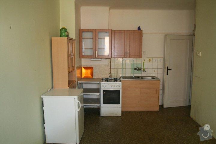 Odmontování zabudovaných poliček, svítidel, kuch. linky a dalšího vybavení bytu 1+1: IMG_7777