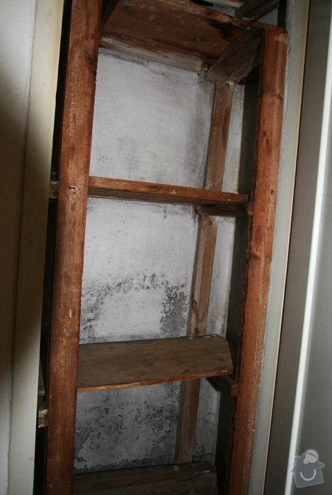 Odmontování zabudovaných poliček, svítidel, kuch. linky a dalšího vybavení bytu 1+1: IMG_7786