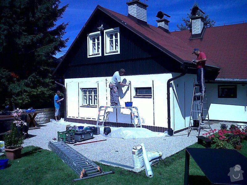 Obnovení nátěrů dřevostavby,oken a oplechování – výměna parapetů : IMG00159-20120723-1110