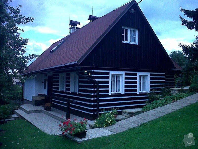 Obnovení nátěrů dřevostavby,oken a oplechování – výměna parapetů : IMG00174-20120808-1440