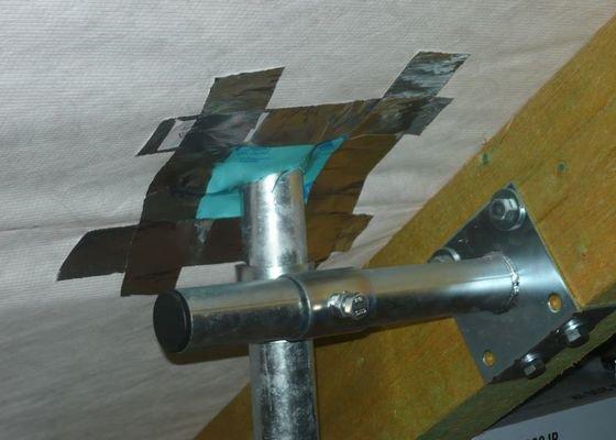 Instalace anténního systému s přepěťovými ochranami