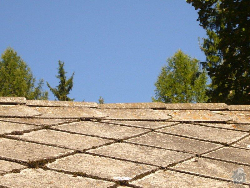 Oprava/rekonstrukce eternitové střechy: 08