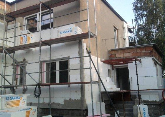 Dodělání zateplení + akryl fasáda 280 m2