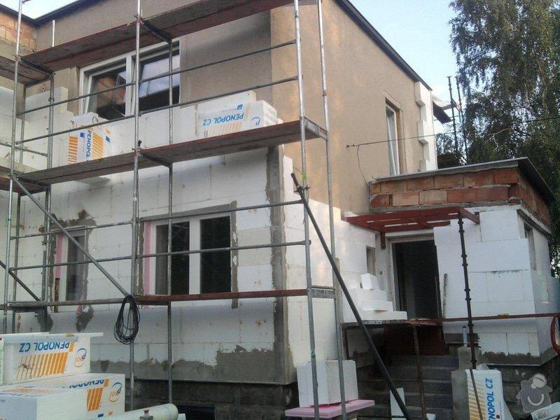 Dodělání zateplení + akryl fasáda 280 m2: Fotografie0468