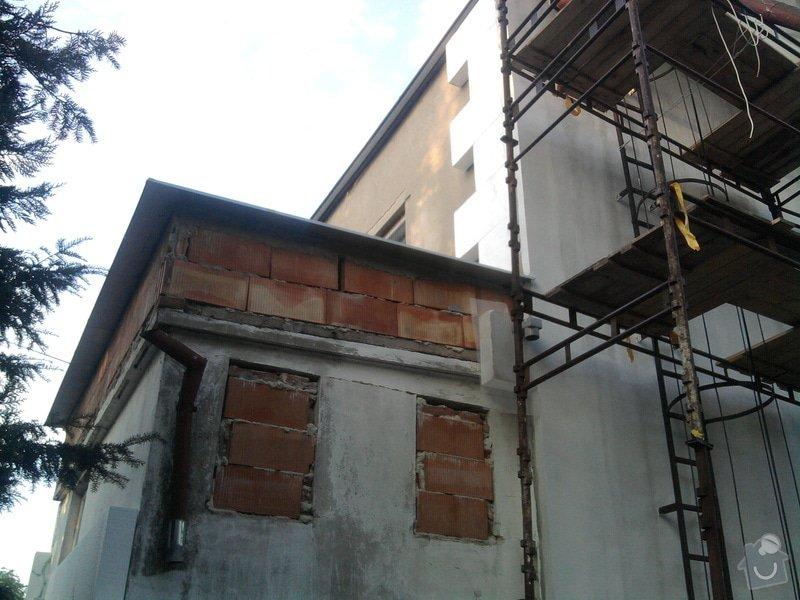 Dodělání zateplení + akryl fasáda 280 m2: Fotografie0471