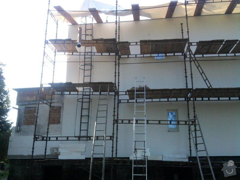 Dodělání zateplení + akryl fasáda 280 m2: Fotografie0472
