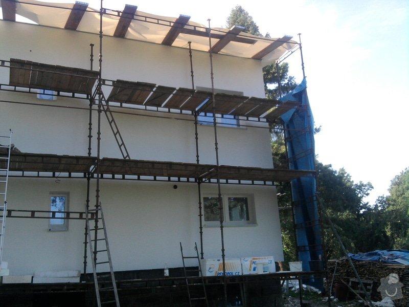 Dodělání zateplení + akryl fasáda 280 m2: Fotografie0473